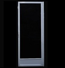 One Lite Storm Door