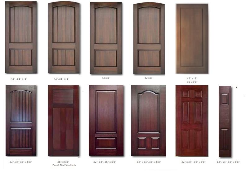 Mahogany Door Styles  sc 1 st  Ontario Aluminum and Glass & Fiberglass Doors - Mahogany Grain Fiberglass Door