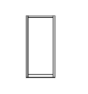 210 Narrow Stile Insulated Door